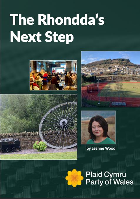 Camau Nesa y Rhondda / Front cover of The Rhonnda's Next Step
