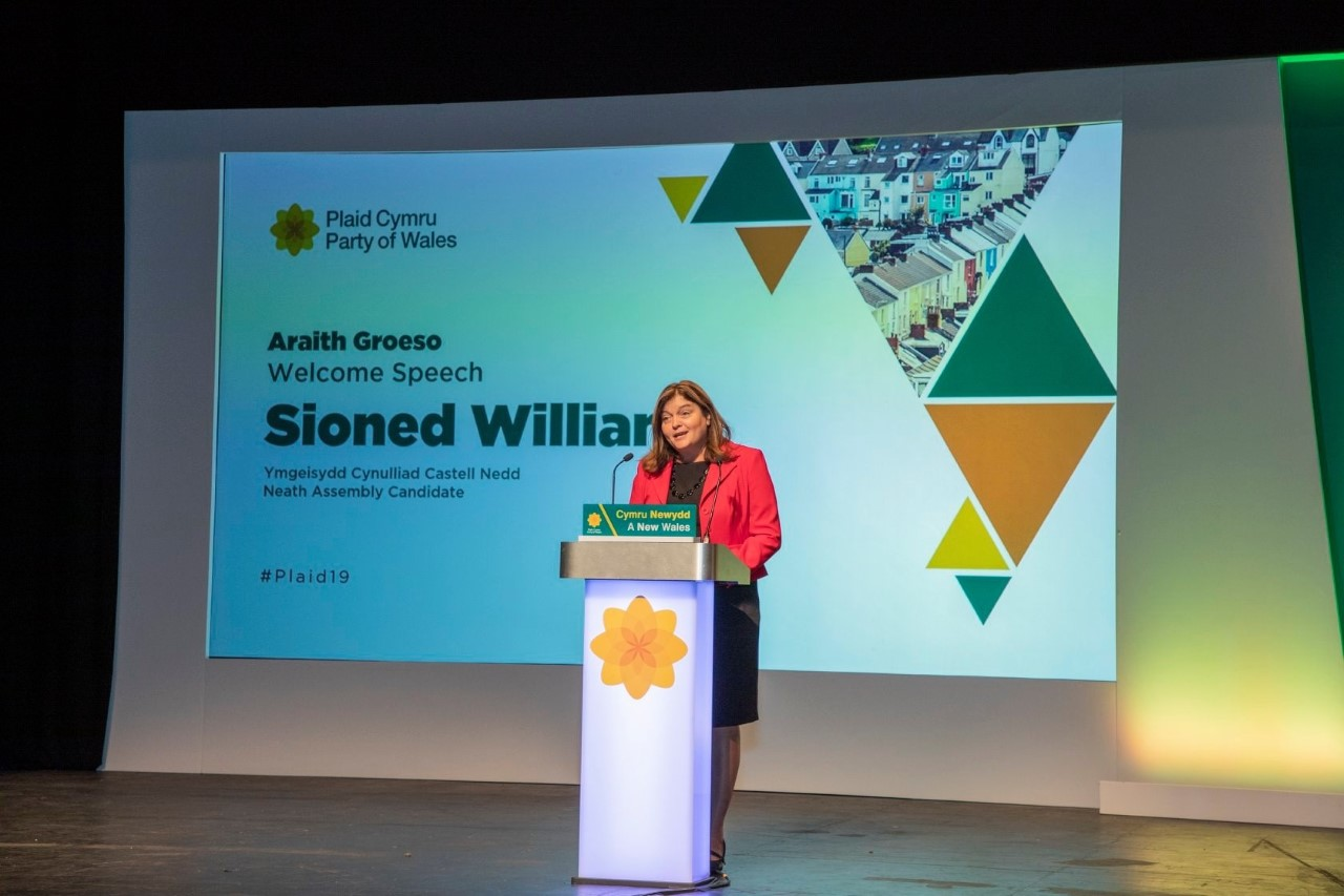 "In conversation with Sioned Williams – ""I don't come from a family of politicians, but I do come from a political family"""